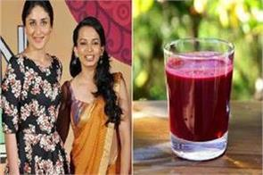 kareena s dietician calls abc juice a miracle drink
