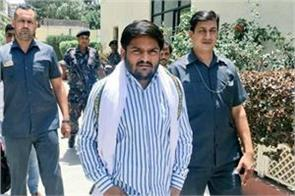 hardik patel did not get permission for fasting