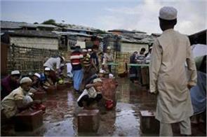 rohingya refugees celebrate the celebration of eid amidst home memories
