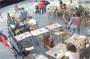 video of woman slapped by her harasser in paris