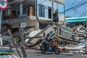 indonesia the number of people killed in earthquake is 400