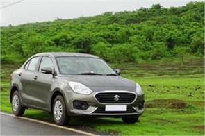 dzire most sold in july