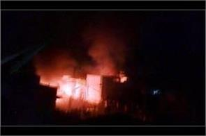 ahmadi mosque set on fire by religious extremists