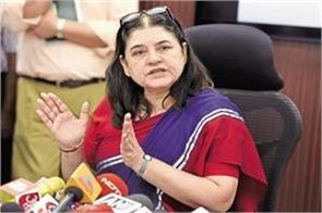 maneka wrote letters to chief ministers joint shelter center for women