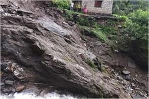 cloudburst in rudraprayag due to heavy rains