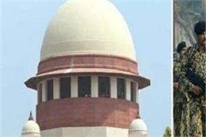 before deciding afspa supreme court should consider about soldiers