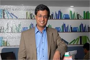 sachin bansal plans up to 1 billion vc fund in life after flipkart