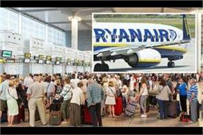 ryanair strike  400 flights cancelled and thousands of passengers affected