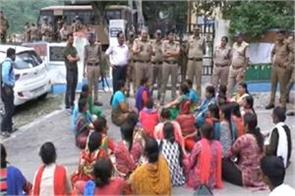 police arrested 64 people after nainital hc order