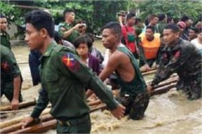 over 63k displaced in myanmar dam breach