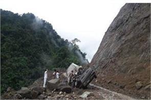 landslide at gangotri highway
