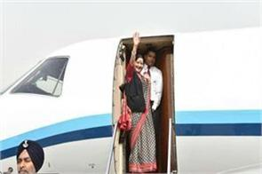 swaraj will be on monday on a four day trip to vietnam and cambodia