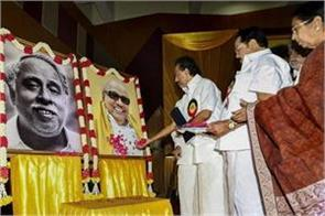 palani swami had gripped his hand in front of him  stalin
