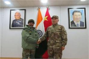 india and china agree for peace on lac