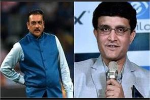sourav ganguly speak about ravi shastri