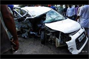 youth of oaur in raikot and a woman dies in road accident