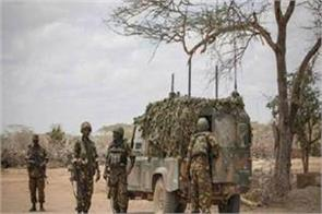 five soldiers killed by native bomb in kenya