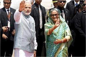 modi and hasina will launch rail projects