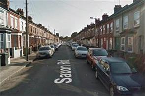 violence in britains luton city many injured
