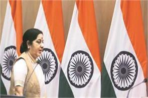 un sushma pak foreign minister will be face to face on the lunch table