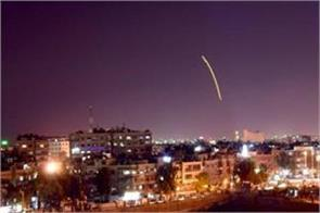 israeli missiles targeted damascus airport government media