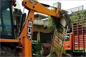 action in kashipur against illegal encroachment