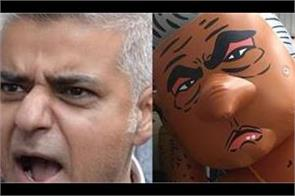 sadiq khan bikini balloon launched in london