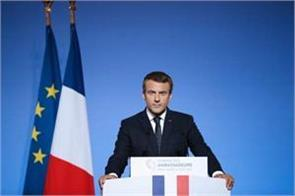 first time macron speak on rafale then i was not the president