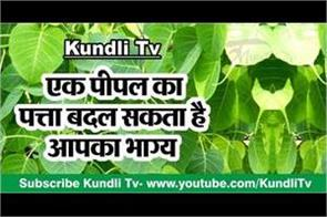 one peepal leaf can change your destiny