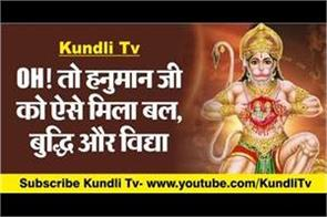 how hanuman ji got strength wisdom and education