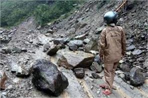 chadham yatra affected due to heavy rains