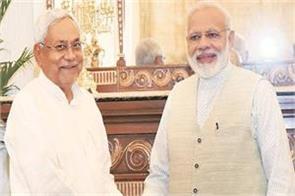 nitish congratulates prime minister narendra modi on birthday