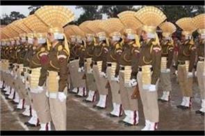 youth filling form for police job in kashmir