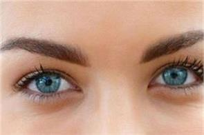 the eyelashes of the eyes will be reduced by blinking less eyelids