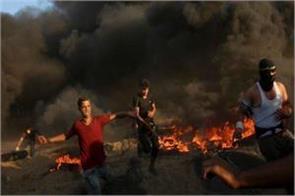 3 killed 248 injured in israel gaza border clashes