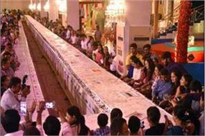 surat 680 kg special cake made on pm modi s birthday