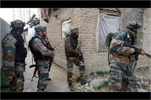 encounter starts between security forces and militants in sopore