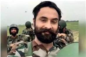 surgical strike solider martyr in kupwara encounter