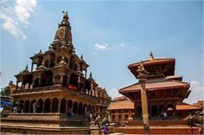 nepal earthquake krishna temple