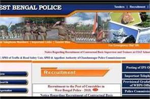 west bengal constable prelims 2018 admit card