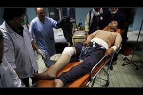 kabul double bombs explode in wrestling club 20 people die
