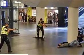 dutch police shoot suspect in stabbing at amsterdam train station