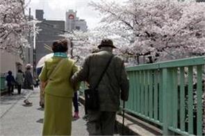 japan has record 69 785 centenarians
