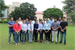 16 engineering students get placement in multinational company