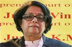 justice indu not in favor of women s entry in sabarimala