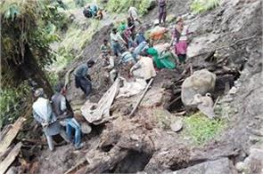 house collapsed in doda 5 killed