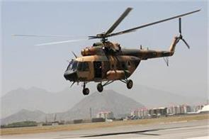 12 people killed in helicopter crashes in northern afghanistan