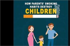 how parents  smoking habits destroy children
