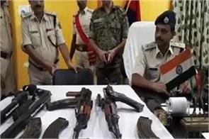 once again recovered 2 ak 47 in munger