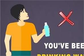 you ve been drinking water wrong your whole life